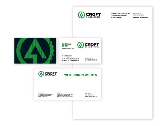 Croft stationery examples